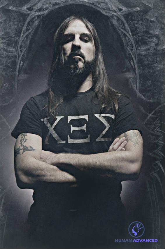 Ο Σάκης Τόλης, τραγουδιστής & κιθαρίστας των Rotting Christ