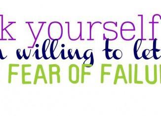 Όσο αφήνεις τον φόβο της αποτυχίας να σε ορίζει, τόσο πιο μακριά είσαι από την επιτυχία σου