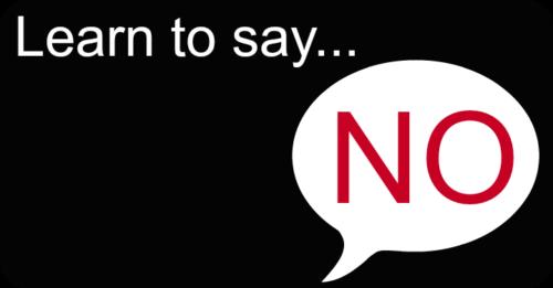 Δεν χρειάζεται να λες πάντα Ναι