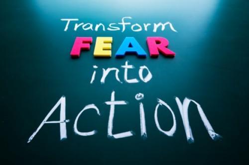 Μετέτρεψε τον φόβο σε κάτι παραγωγικό